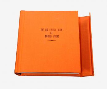 Book With Built-in Closure