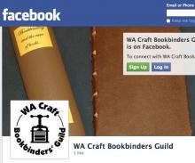 WA Bookbinders Joins Facebook